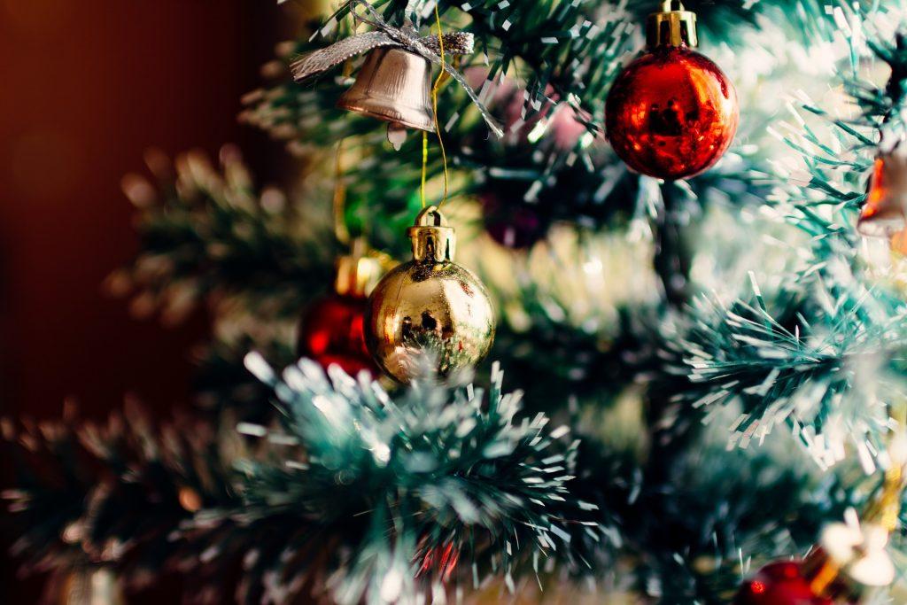 Bild på julgran